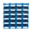 LocBin 3-220BWS Wall Storage Medium Bins, Blue