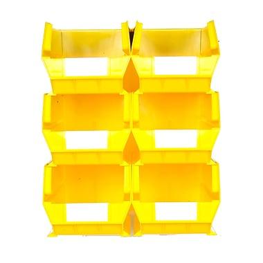 LocBin Wall Storage Large Bins, Yellow (3-240YWS)