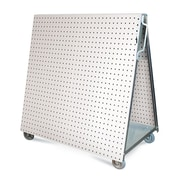 LocBoard LBC-4 48L x 46H LB Tool Cart, White