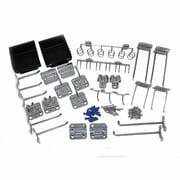 LocHook LH3-KIT Kit 28 Hooks 2 Bins, Silver