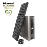 Refurbished Dell Optilex 760 Ultra Small Form Factor PC 80gb HDD, 2gb RAM, Intel lCore Duo 2.5Ghz, Window7
