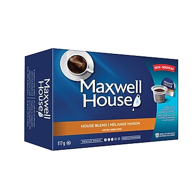 Maxwell House Blend Single Serve Coffee, Medium, 12/Pack