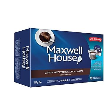 Kraft Pod Maxwell House Dark Roast Blend, 12/Pack