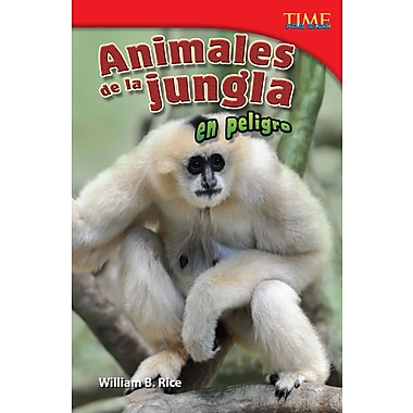 Animales de la jungla en peligro (Endangered Animals of the Jungle) Spanish Version