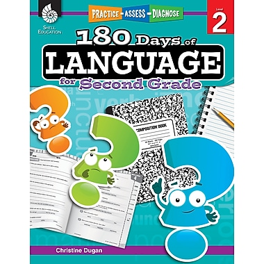 Practice, Assess, Diagnose: 180 Days of Language for Second Grade
