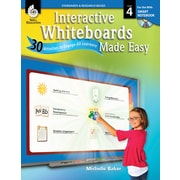 Interactive Whiteboards Made Easy: 30 Activities to Engage All Learners: Level 4 (SMART Notebook Software)