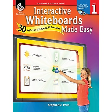 Interactive Whiteboards Made Easy: 30 Activities to Engage All Learners: Level 1 (ActivInspire Software)