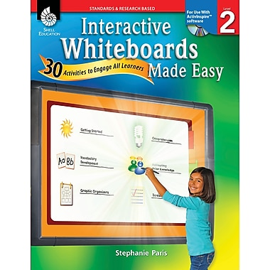 Interactive Whiteboards Made Easy: 30 Activities to Engage All Learners: Level 2 (ActivInspire Software)