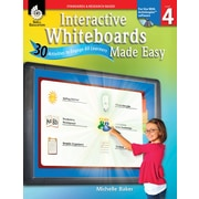Interactive Whiteboards Made Easy: 30 Activities to Engage All Learners: Level 4 (ActivInspire Software)