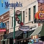 Browntrout Publishers 12 x 12 Memphis Wall Calendar