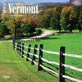 Browntrout Publishers 12in. x 12in. Wild & Scenic Vermont Wall Calendar