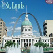 Browntrout Publishers 12 x 12 St. Louis Wall Calendar