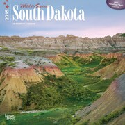 Browntrout Publishers 12 x 12 Wild & Scenic South Dakota Wall Calendar