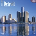Browntrout Publishers 12in. x 12in. Detroit Wall Calendar