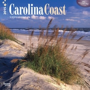 "Browntrout Publishers 12"" x 12"" Carolina Coast Wall Calendar"