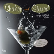 Browntrout Publishers 12 x 12 Shaken Not Stirred Wall Calendar
