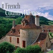 Browntrout Publishers 12 x 12 French Country Homes Wall Calendar
