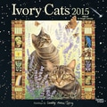 Browntrout Publishers 12in. x 12in. Ivory Cats by Lesley Anne Ivory Wall Calendar