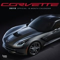 Browntrout Publishers 12in. x 12in. Corvette Wall Calendar