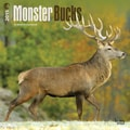 Browntrout Publishers 12in. x 12in. Monster Bucks Wall Calendar