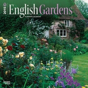 "Browntrout Publishers 12"" x 12"" English Gardens Wall Calendar"