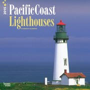 Browntrout Publishers 12 x 12 Pacific Coast Lighthouses Wall Calendar