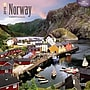 Browntrout Publishers 12 x 12 Norway Wall Calendar