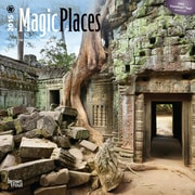 Browntrout Publishers 12 x 12 Magic Places Wall Calendar