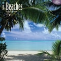 Browntrout Publishers 12in. x 12in. Beaches Wall Calendar
