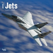 Browntrout Publishers 12 x 12 Jets Wall Calendar