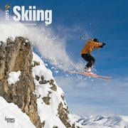 Browntrout Publishers 12 x 12 Skiing Wall Calendar