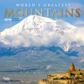 Browntrout Publishers 12in. x 12in. World's Greatest Mountains Wall Calendar