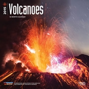 "Browntrout Publishers 12"" x 12"" Volcanoes Wall Calendar"
