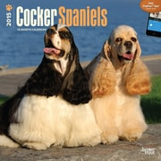 Browntrout Publishers 12 x 12 Cocker Spaniels Wall Calendar