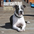 Browntrout Publishers 12in. x 12in. American Pit Bull Terriers Wall Calendar