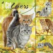 Browntrout Publishers 12 x 12 Cat Lovers Wall Calendar