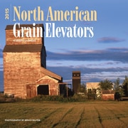 "Browntrout Publishers 12"" x 12"" North American Grain Elevators Wall Calendar"