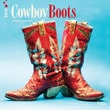 """Browntrout Publishers 12"""" x 12"""" Cowboy Boots Wall Calendar"""