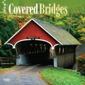 Browntrout Publishers 12in. x 12in. Covered Bridges Wall Calendar