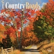 """Browntrout Publishers 12"""" x 12"""" Country Roads Wall Calendar"""
