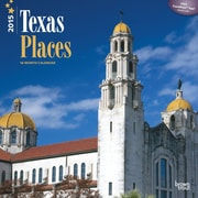 Browntrout Publishers 12 x 12 Texas Places Wall Calendar