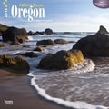 Browntrout Publishers 12in. x 12in. Wild & Scenic Oregon Wall Calendar