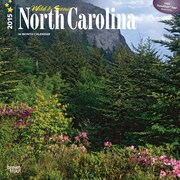 Browntrout Publishers 12 x 12 Wild & Scenic North Carolina Wall Calendar