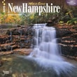 "Browntrout Publishers 12"" x 12"" Wild & Scenic New Hampshire Wall Calendar"