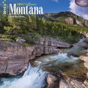 Browntrout Publishers 12 x 12 Wild & Scenic Montana Wall Calendar