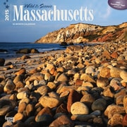 Browntrout Publishers 12 x 12 Wild & Scenic Massachusetts Wall Calendar