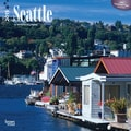 Browntrout Publishers 12in. x 12in. Seattle Wall Calendar