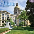 "Browntrout Publishers 12"" x 12"" Atlanta Wall Calendar"