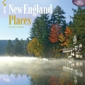 Browntrout Publishers 12in. x 12in. New England Places Wall Calendar