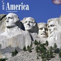 Browntrout Publishers 12in. x 12in. America Wall Calendar